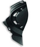 Ducati Carbon voor kettingwiel cover_