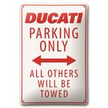 Ducati park only wall plate