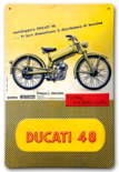 Ducati 48 wallsign
