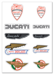 Ducati Historical sticker