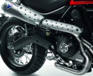 Race-Line complete steel exhaust system kit Ducati scrambler