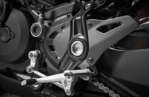 Ducati Carbon voor kettingwiel cover