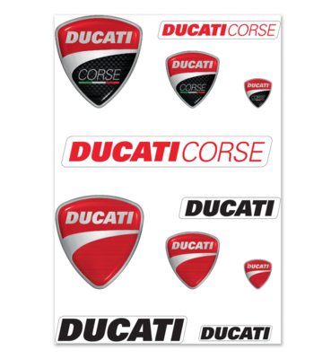 Ducati mix sticker set