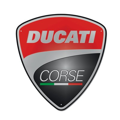 Ducati Corse Metal Sign