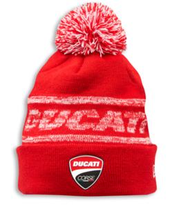 Ducati New Era Cuff knit bobble